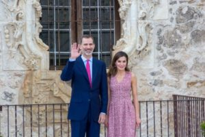 El Rey Felipe y la Reina Letizia realizaron una visita de dos días a la ciudad de San Antonio Texas, por el 300 aniversario de la Fundación de la ciudad.