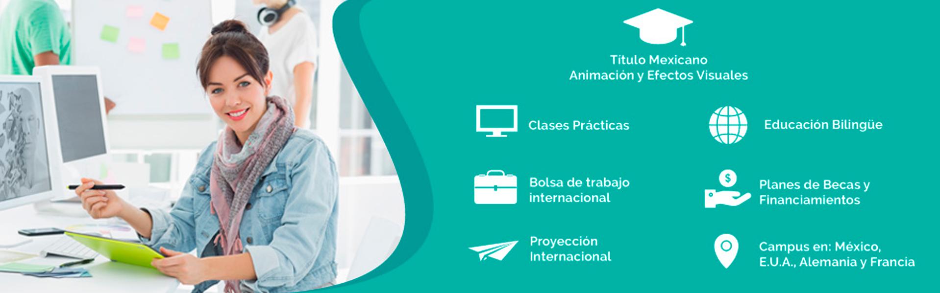 Licenciatura en Animación y Efectos Visuales